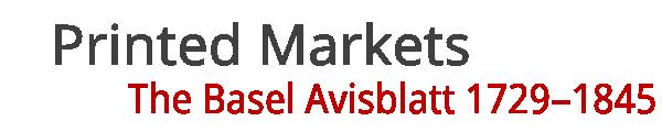 Printed Markets
